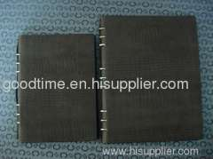Black Soft leather notebooks