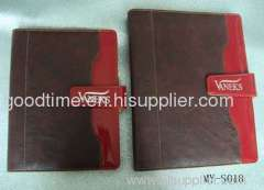 New soft leather notebook