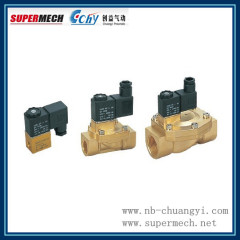 2V Series Two-position Two-way water oil gas solenoid valve 24V
