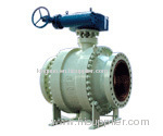 Cast Steel Fixed Ball Valve