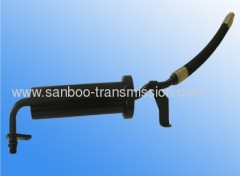 Automatic gear box cooling oil pressure pipe