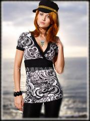 OL Style V-Neck Waist Dress
