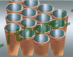 Copper mould tube
