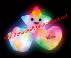 Colorful Led Light Pillow Cushion