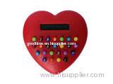 Red heart gift calculator
