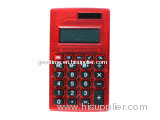 Simple red calculator