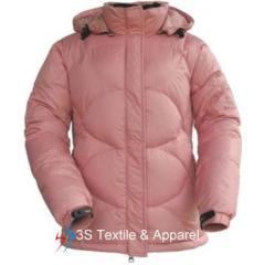 lady's down jacket