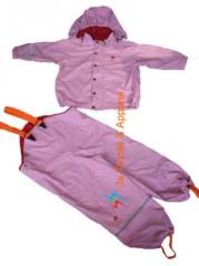 Children rain set