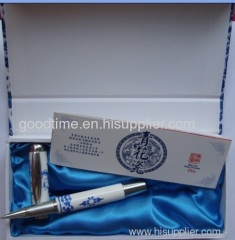 Oriental Blue and White ball-pen