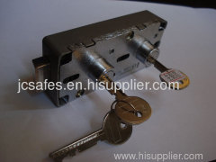 Dual-key UL approval Safe Deposit Box Lock