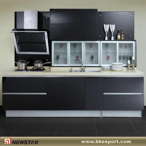 Charmant Black MDF Cabinet With PVC Manufacturer From China Newstar Industrial  Co.,Ltd.