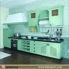 Solid kitchen cupboards