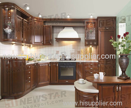 Arch door shape wooden kitchen cabinet products china for Arch kitchen cabinets