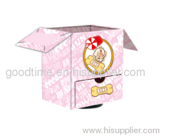 Pink house Nested gift boxes