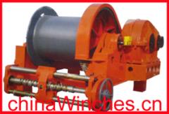 electric hydraulic anchor winch
