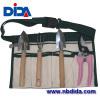 4PC steel garden tool with belt bag