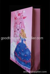 Pink standard gift bag