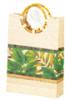 Yellow Shopping gift bags