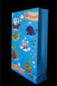 Blue colorful Packaging gift bags