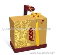 Food packaging box with 400g coated paper