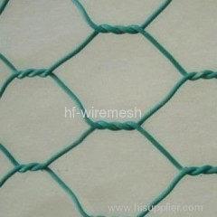 PVC Coated Hexagonal Wire Mesh Fences