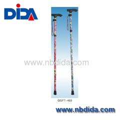 Walking Stick with flower printing