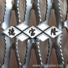 Perforated skid plate
