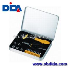 21 pcs household tool kit