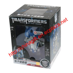 Transformers Bumblebee Electronic coin bank, savings