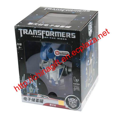 Transformers Bumblebee Electronic coin bank, savings