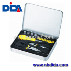 21 pc basic home tool set with pretty case