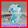 Environmental Material Murano Glass Rope Beads with 925 Sterling Silver Single Core