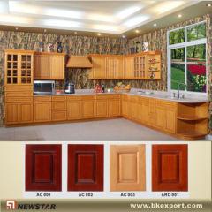 Shaker wooden kitchen cupboards