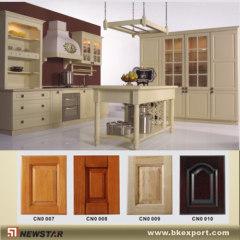 Hard wood kitchen wooden cupboard