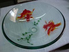 Glass sink(s)