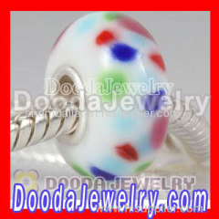 imitation european glass beads jewelry