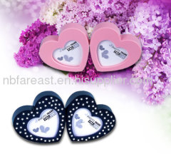 lovely heart photo frames