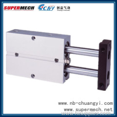 TN series double rod pneumatic cylinder