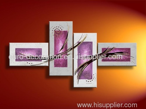 Handmade Abstract And Decorative Oil Paintings