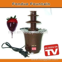fondue fountain