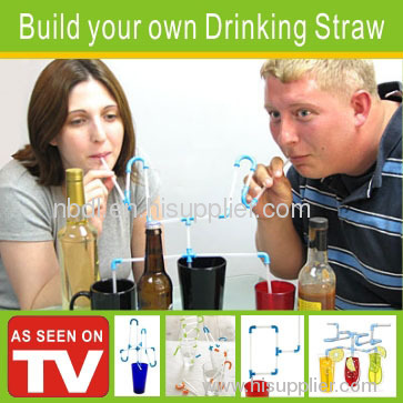 Build your own Drinking Straw