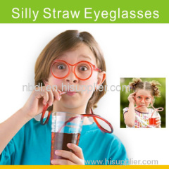 Silly Straw Eyeglasses