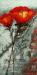 Handmade Flower Vase Oil Painting