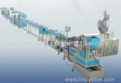 Dripper irrigation pipe production line