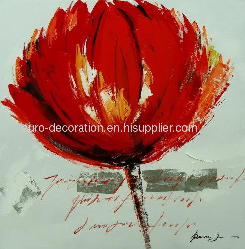 Handmade Floral Paintings