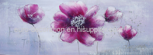Handmade Flower Oil Painting Pictures