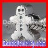 european Jewelry Style Christmas Snowman Beads fit Chamilia Biagi Charm Bracelet