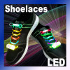 LED Light up shoelaces flash glow stick shoestring