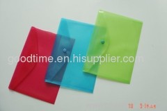 pp plastic file document envelop