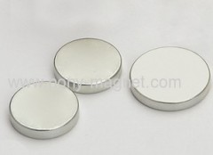 n35 ni plated disc magnet